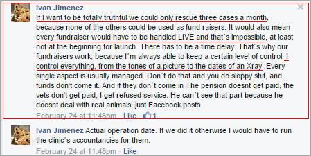 Viktor Larkhill - lying to donors